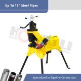 """Het hydraulische Broodje die van de Pijp Machine voor 1 groeven """" - 12 """" Pijpen van het Roestvrij staal (YG12D)"""
