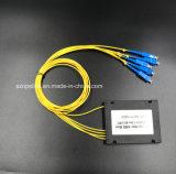 PLC van de Telecommunicatie van Gpon 1X8 Splitser