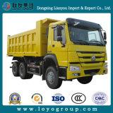중국 Sinotruk HOWO 6X4 판매를 위한 덤프 트럭