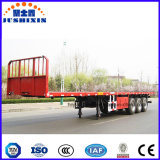 40FT 2/3/4 de reboque Flatbed do recipiente de Platmorm do eixo