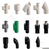 Moulage de diverses garnitures de pipe en plastique