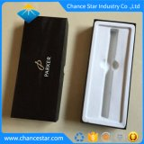 Custom печать картонной подарочной упаковки бумаги пера в салоне