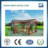 Perfil de alumínio personalizadas para sala de raios solares