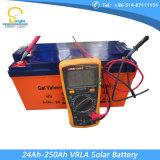 batteria gelificata 150ah per l'indicatore luminoso di via solare