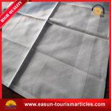 A roupa de casamento branco impresso toalhas descartáveis para a bordo