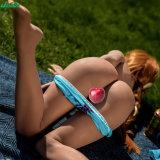 La fabbrica fa il giocattolo femminile del sesso della vagina per il silicone maschio del TPE dei giocattoli del sesso con le bambole di scheletro dell'ente