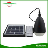 LED lámpara solar portátil de 11 Inicio Tienda de la luz de luz de acampada con control remoto