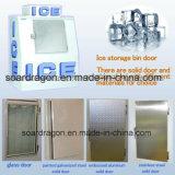 Eingesacktes Eis-Würfel-Eisspeicher-Sortierfach