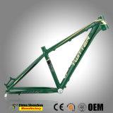 Bâti en aluminium interne de la bicyclette MTB de Mountian de câblage de commande des vitesses