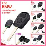 Auto escudo chave remoto para BMW com 3 a tecla Hu92