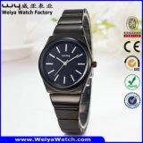 Quarz-Frauen-Armbanduhr der Fabrik-beiläufige Legierungs-OEM/ODM (Wy-104C)