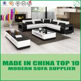 Sofá de cuero seccional italiano de los muebles caseros de la sala de estar de Dubai
