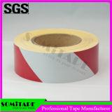 Somi 테이프 Sh502는 경고를 위한 빨갛 백색 Conspicuity 표하기 테이프를 방수 처리한다