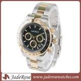 Spitzenmarken-Luxuxquarz-Uhr, Uhr der Form-Edelstahl-Männer
