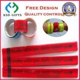 カスタマイズされた反射印刷デザイン昇進の非難のブレスレット(KSD-888)