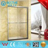 Sitio de ducha vendedor caliente de la manera del diseño con el vidrio Tempered de 6m m (BL-L0006-P)
