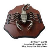 Скорпион нож дома элемент оформления настольное украшение 33см