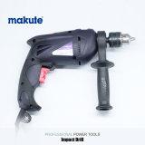 850W Taladradora Makute 13mm taladro eléctrico de fuerte impacto (ID008)