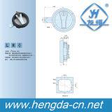 Круглая форма для запирания на ручке стальной шкаф/Кабинет поверните рукоятку замка (YH8076)