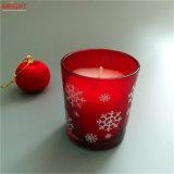 確かに明るい蝋燭ロゴデザインガラス瓶Candlles