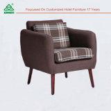 Jogo do sofá da mobília, sofá de madeira luxuoso do projeto moderno