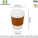 La promoción de papel desechables de doble pared taza de cafe