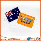 Mini personalizado mano ondeando la bandera para deportes y eventos
