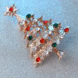 Pin piega del risvolto del metallo di stile con il diamante (YB-LP-440)