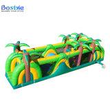 Obstáculo inflável comercial da selva para a venda