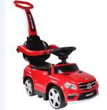 Электрическая езда малышей на автомобиле с штангой нажима