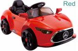 Il giocattolo a pile dei capretti scherza l'automobile con la sede dell'unità di elaborazione