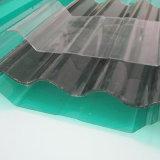 Curvado telhando folha ondulada do PC de Danpalon da folha do policarbonato da folha