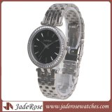 Dame Diamond Watch, einfache Art-Armband-Luxuxuhren, Dame Armbanduhr