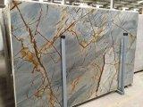 Синий рома Quartzite полированной плитки&слоев REST&место на кухонном столе