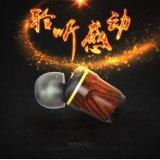 Hifi umsponnenes InOhr Huanghauli hölzerner Kopfhörer für iPhone