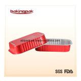 Empaquetage rouge de papier d'aluminium de Lisse-Mur