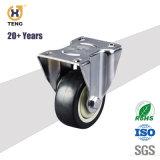 企業の3/4/5/6インチPU/TPR/PA/PP/Rubber 側面ブレーキが付いている足車の車輪