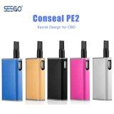 새로운 동향 제품 Seego Conseal PE2 Cbd Vape 건전지 상자 Mod 2018년