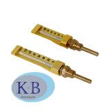 Thermometers van de Pijp van het Glas van de Lijn van het Gebruik de Goedkope en Hoogstaande 90 V van de industrie