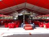 De grote pvc Met een laag bedekte Tent van het Huwelijk van de Tentoonstelling Carpas