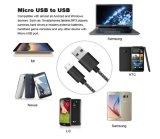 5V 2A USB cable de datos de nylon para Android