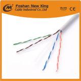 Cavo della rete via cavo di lan del cavo 4X2X0.45mm CCA/Bc Cat5 di UTP con il rivestimento di PVC