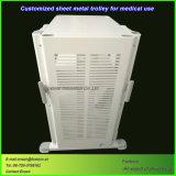 CNC die het Karretje van het Metaal van het Blad van de Douane voor de Apparatuur van het Ziekenhuis machinaal bewerken