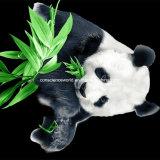 100%Polyester Disperse панды 3D напечатал ткань для комплекта постельных принадлежностей