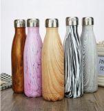 Thermos promocional del matraz de vacío de la taza de café del regalo de Engravable de la inflamación de la botella de agua del N2 de encargo al por mayor de la insignia