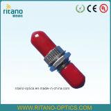 Adaptateurs de fibre optique de rue de corps inférieur en métal de la perte 0.2dB