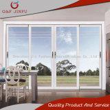 Vista grande Heavy Duty de aluminio con doble puerta corrediza de vidrio