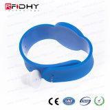 Wristband del PVC RFID di festival di musica del E-Biglietto di basso costo