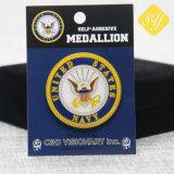 Décoration personnalisée de gros vêtements USA broche métal militaire insigne boutonnière