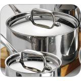 il Cookware dell'acciaio inossidabile 3fly ha impostato 8 PCS